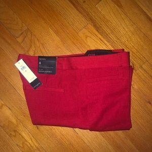 Banana Republic Red Dress Pants